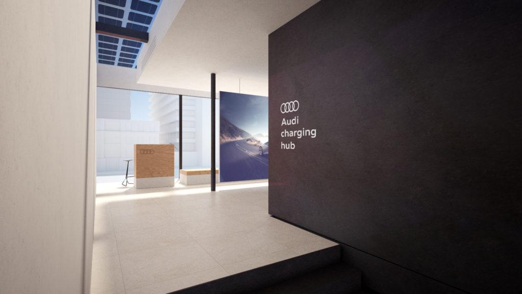 Audi charging hub (fot. mat. prasowe)