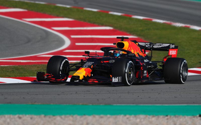 Bolid formuły 1 Red Bull F1 Team