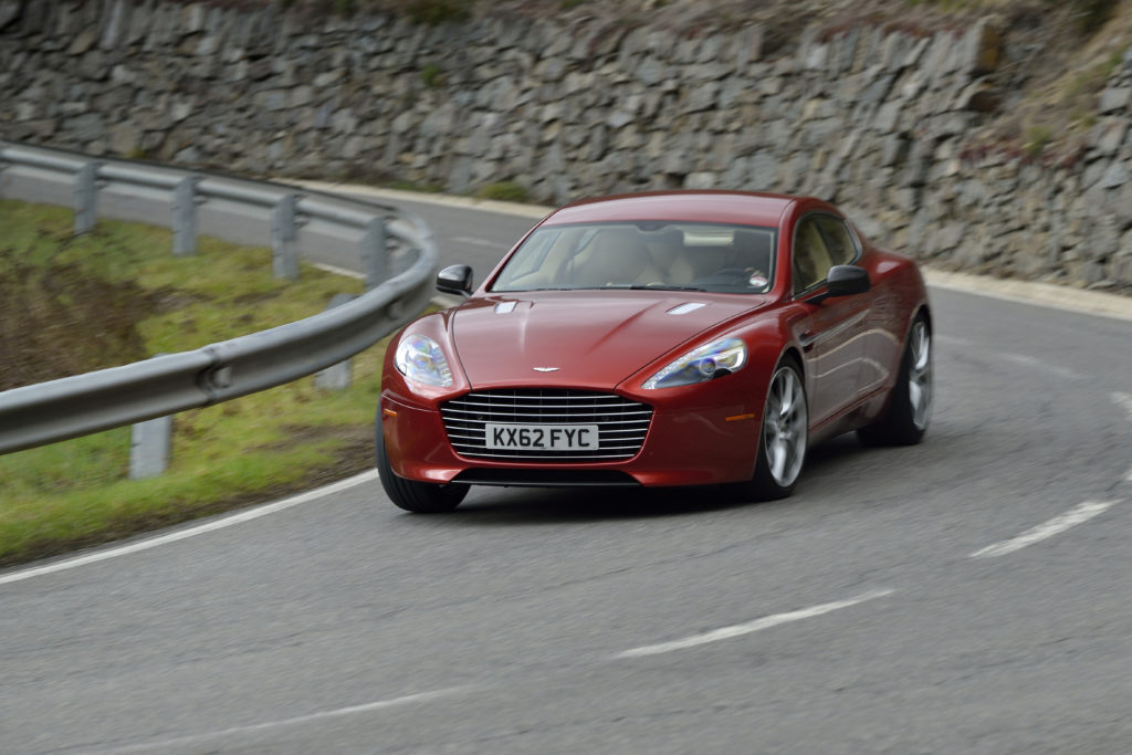 Jak jeździ Aston Martin Rapide