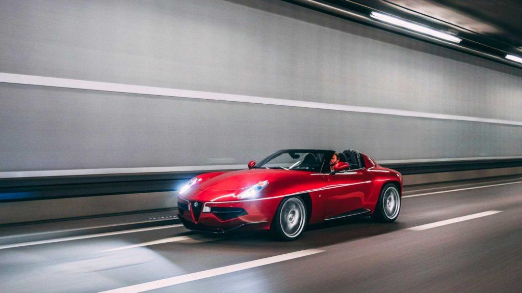 Carrozzeria Touring Superleggera Disco Volante (fot. mat. prasowe)