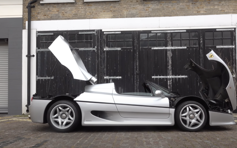 Ferrari F50 London (fot. YT TheTFJJ)