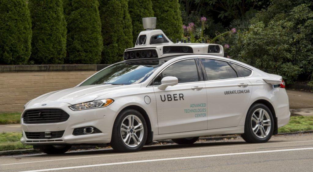Ford Fusion Uber (fot. Uber)