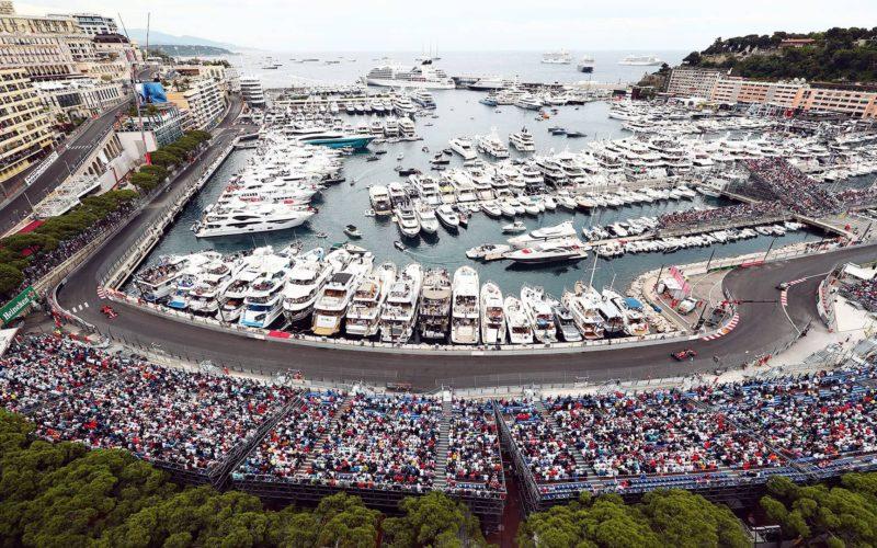 Słynny tor F1 w Monaco