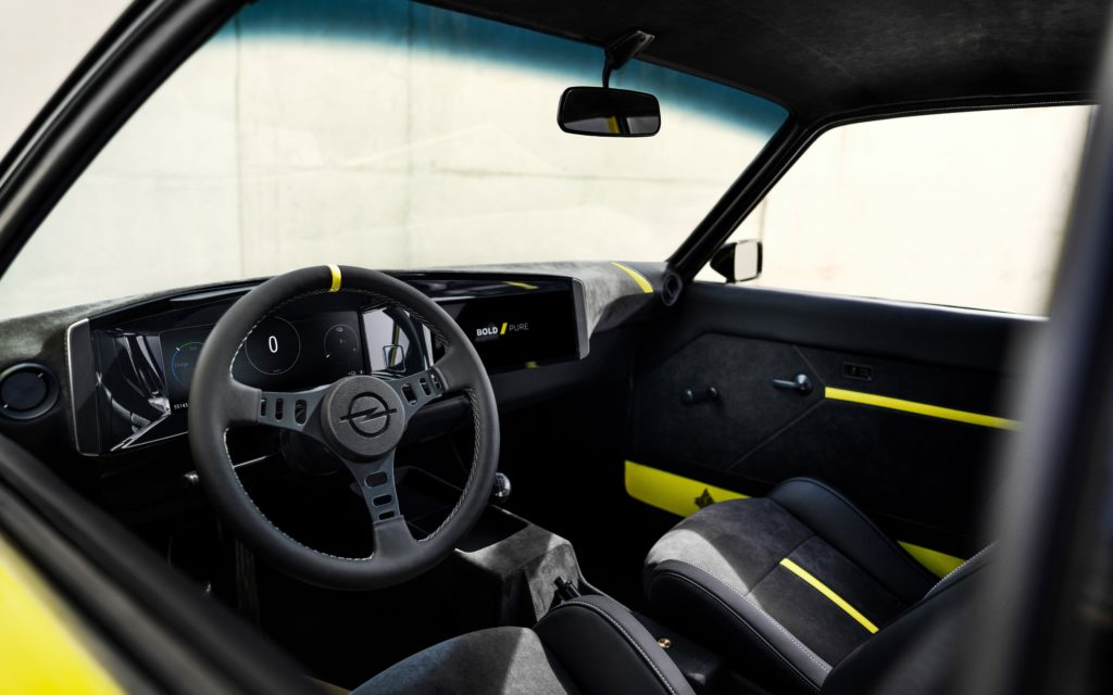 Opel Manta GSe ElektroMOD (fot. Opel)