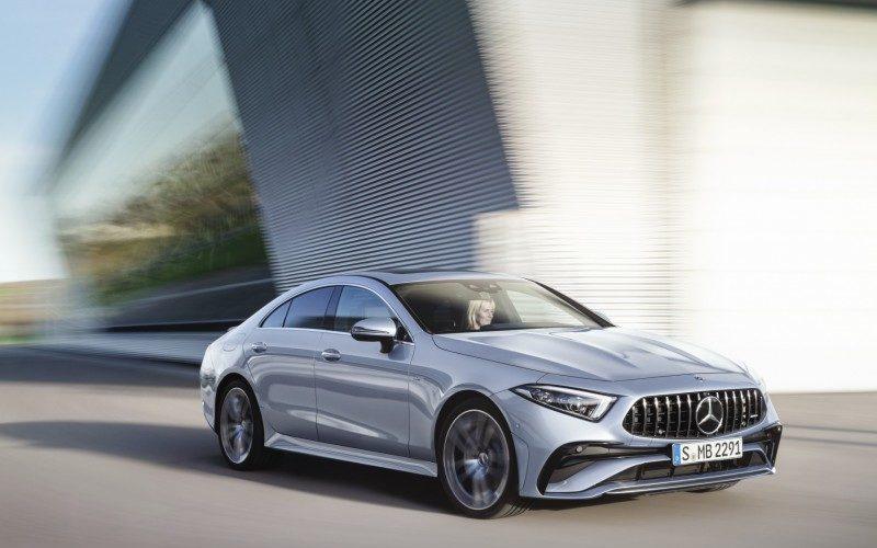 Mercedes-Benz CLS (fot. mat. prasowe)