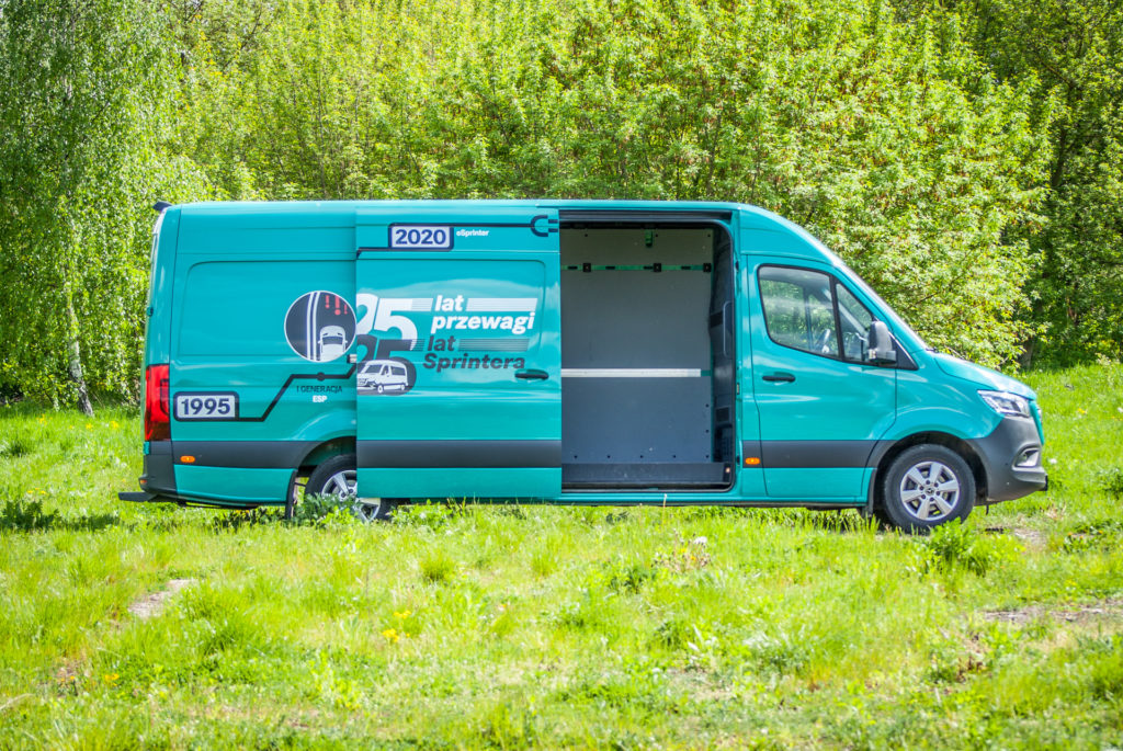 Mercedes Sprinter 316 CDI (fot. Jakub Kornacki / Automotyw.com)
