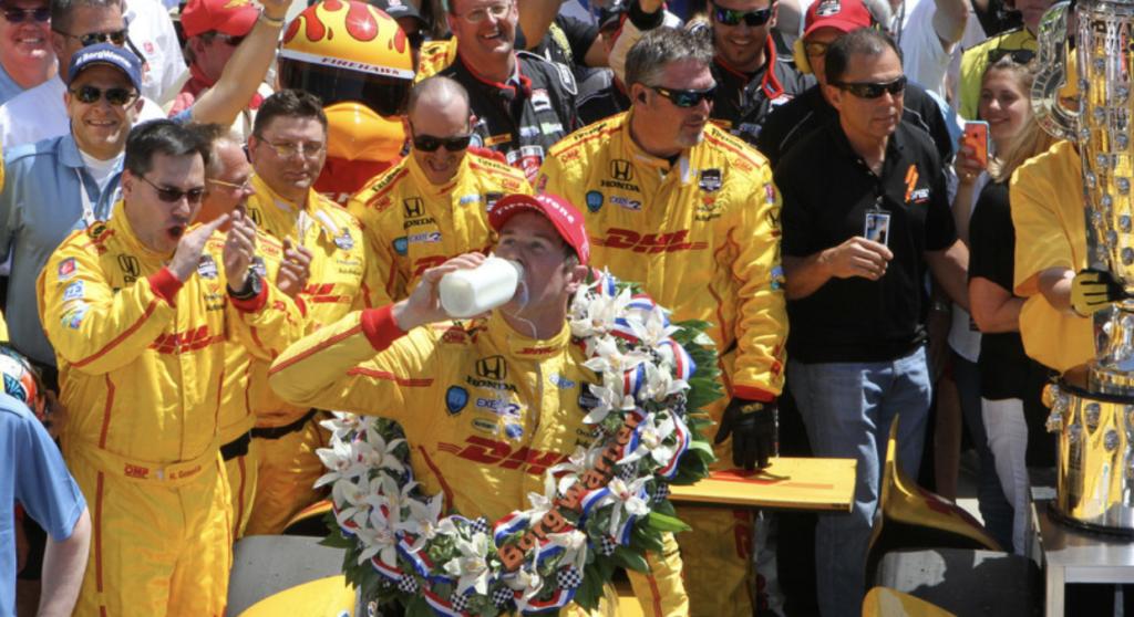 Mleko Indianapolis 500 (fot. mat. prasowe)