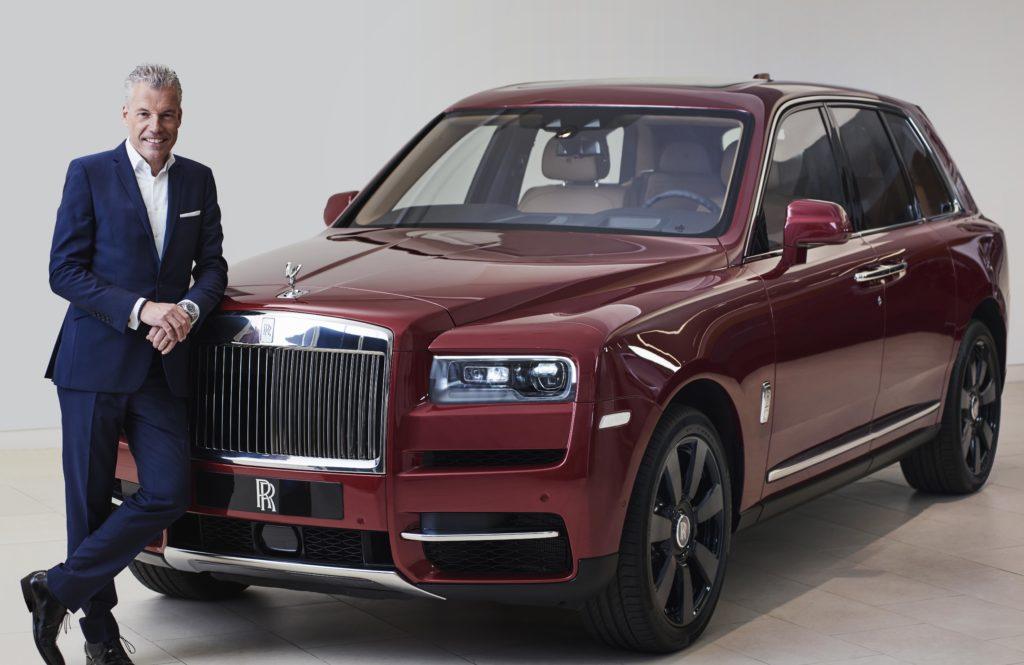 Szef marki Rolls-Royce