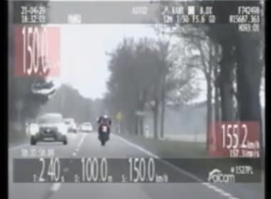 Pościg policyjny za motocyklem