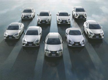 Gama modeli Lexus (fot. Lexus)