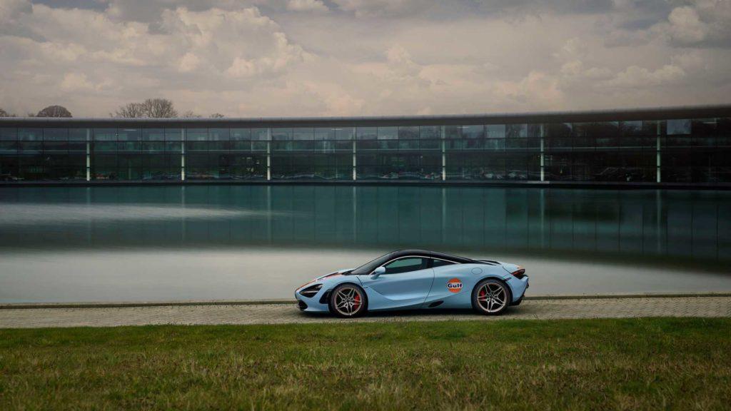 McLaren 720S w malowaniu Gulf (fot. mat. prasowe)