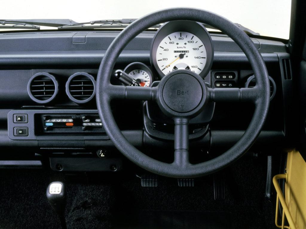 Wnętrze Nissan Be-1