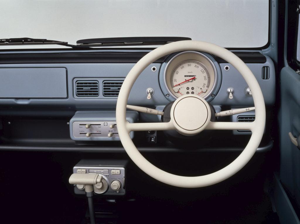Wnętrze Nissan Pao