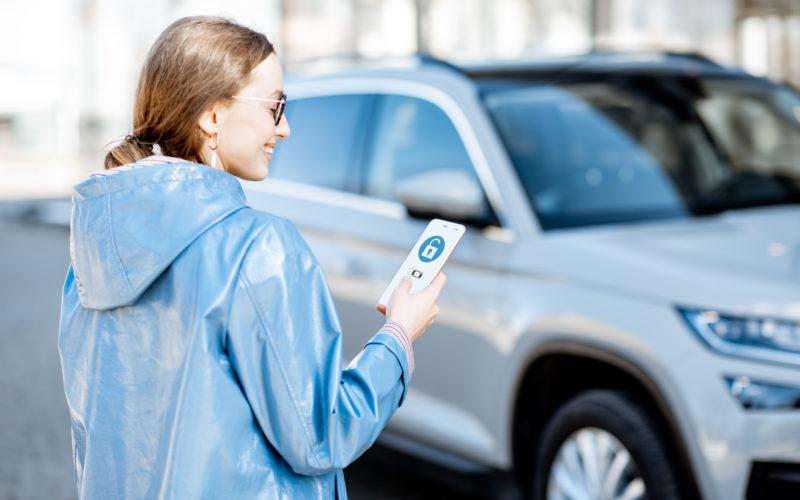 smartfon jako kluczyk
