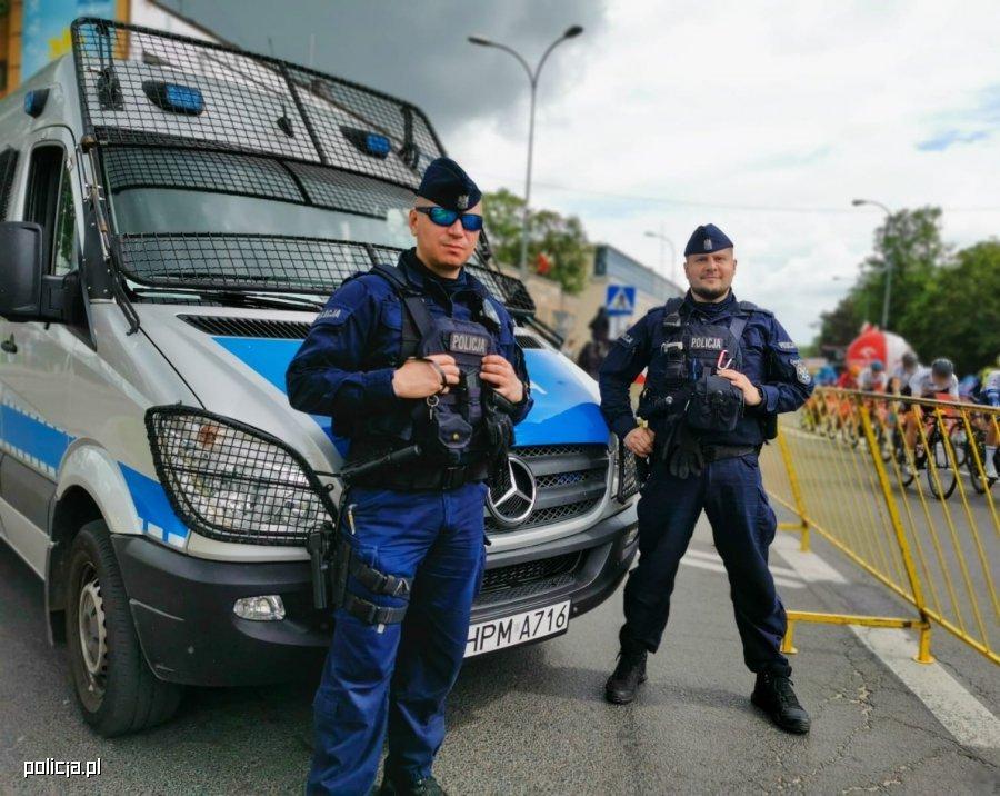 Funkcjonariusze (fot. mat. prasowe)