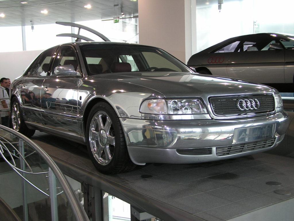 Audi Space Frame - koncepcyjne Audi A8 D2
