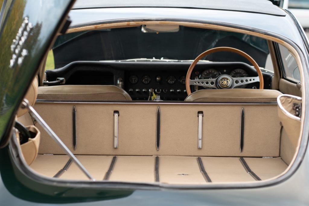 elementy wnętrza Jaguar E-type