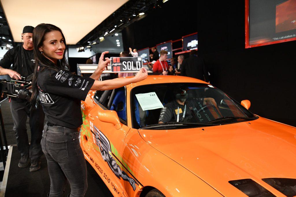 Fast and Furious Toyota Supra (fot. Barrett-Jackson)