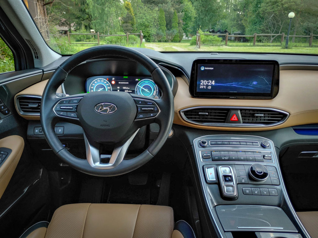 Hyundai Santa Fe Hybrid (fot. Jakub Kornacki / Automotyw.com)