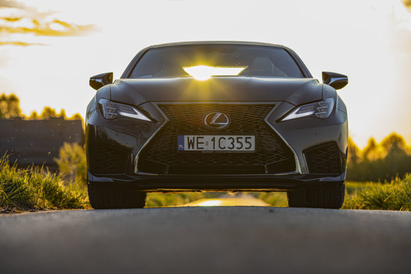Lexus RC F (fot. Łukasz Walkiewicz / automotyw.com)