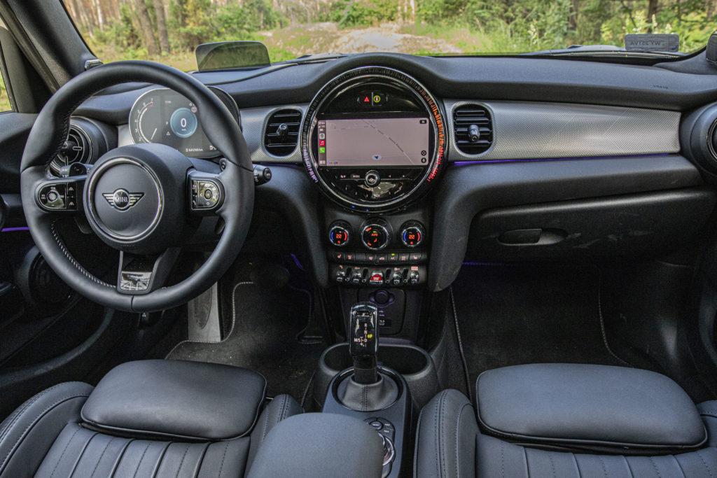 wnętrze Mini Cooper S