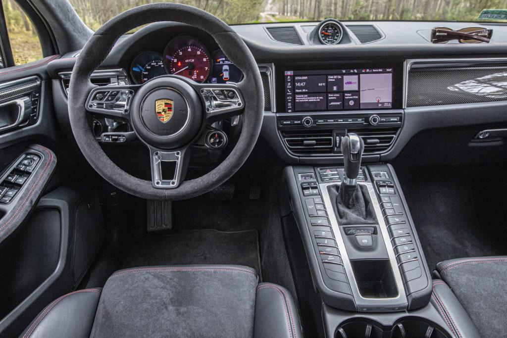 Wnętrze Porsche Macan GTS