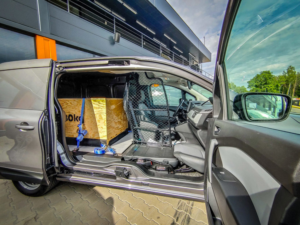 Renault Kangoo van z systemem Open Sesame