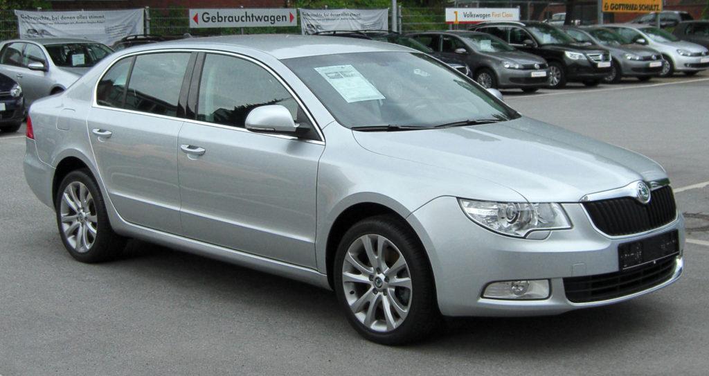 Škoda Superb II - fot. M 93 - Wikimedia