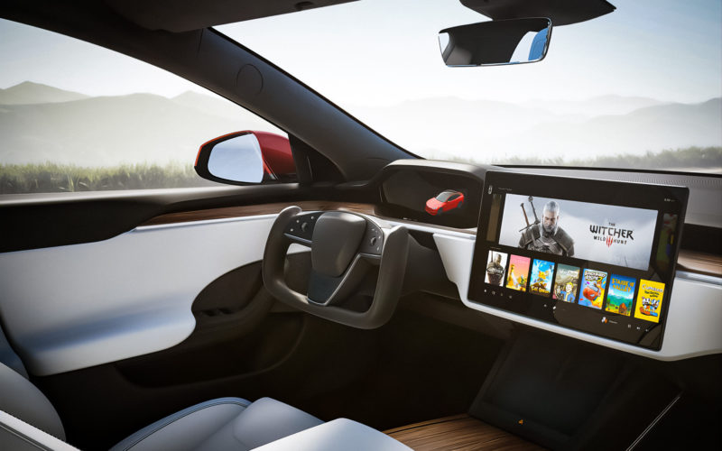 Tesla i gry