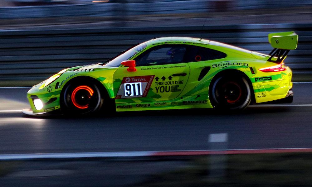 Porsche 911 GT3 R, Manthey-Racing