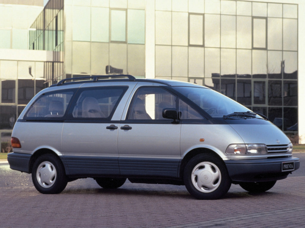 Toyota Previa (fot. mat. prasowe)