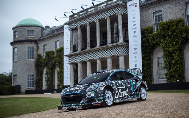 Ford Puma Rally1 WRC (fot. Ford)