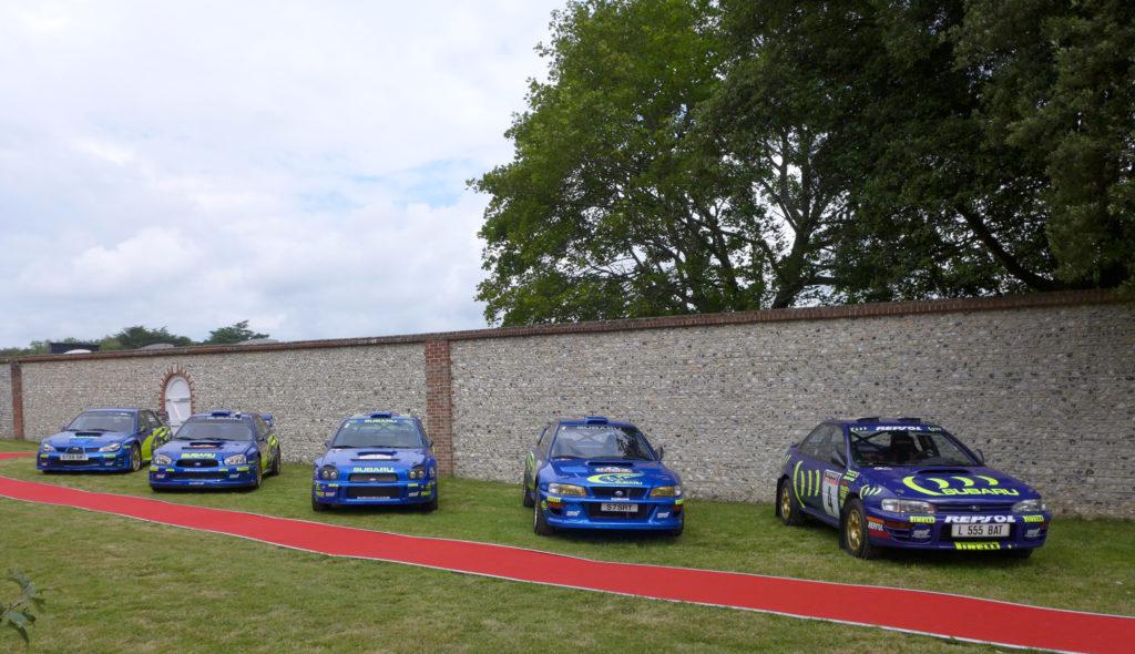 Rajdowe Subaru Imprezy