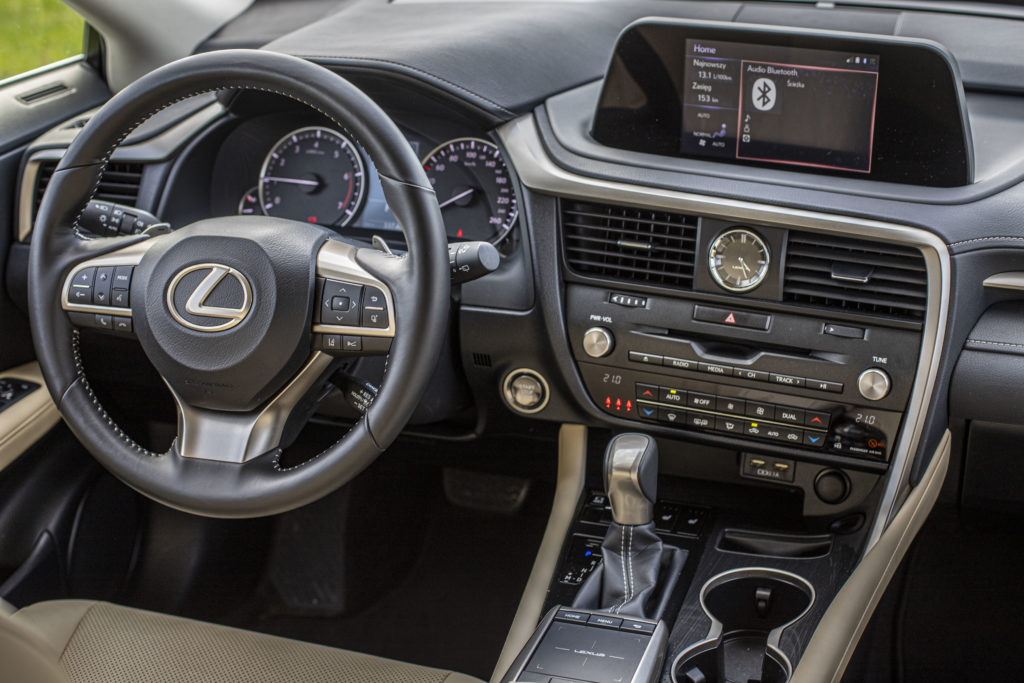 wnętrze Lexus RX300
