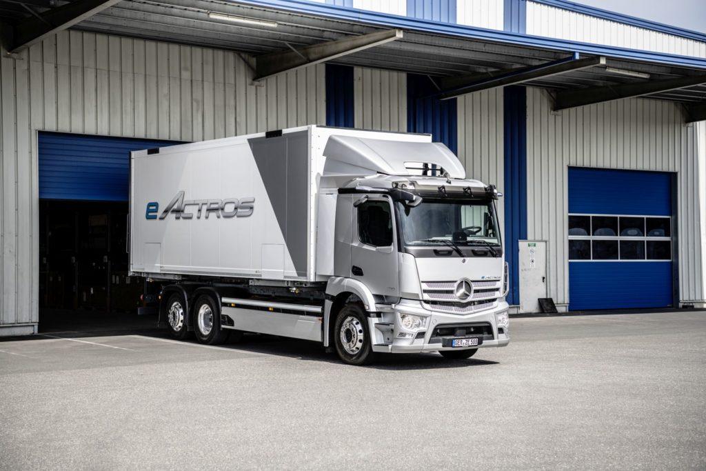 Mercedes eActros (fot. Mercedes-Benz)