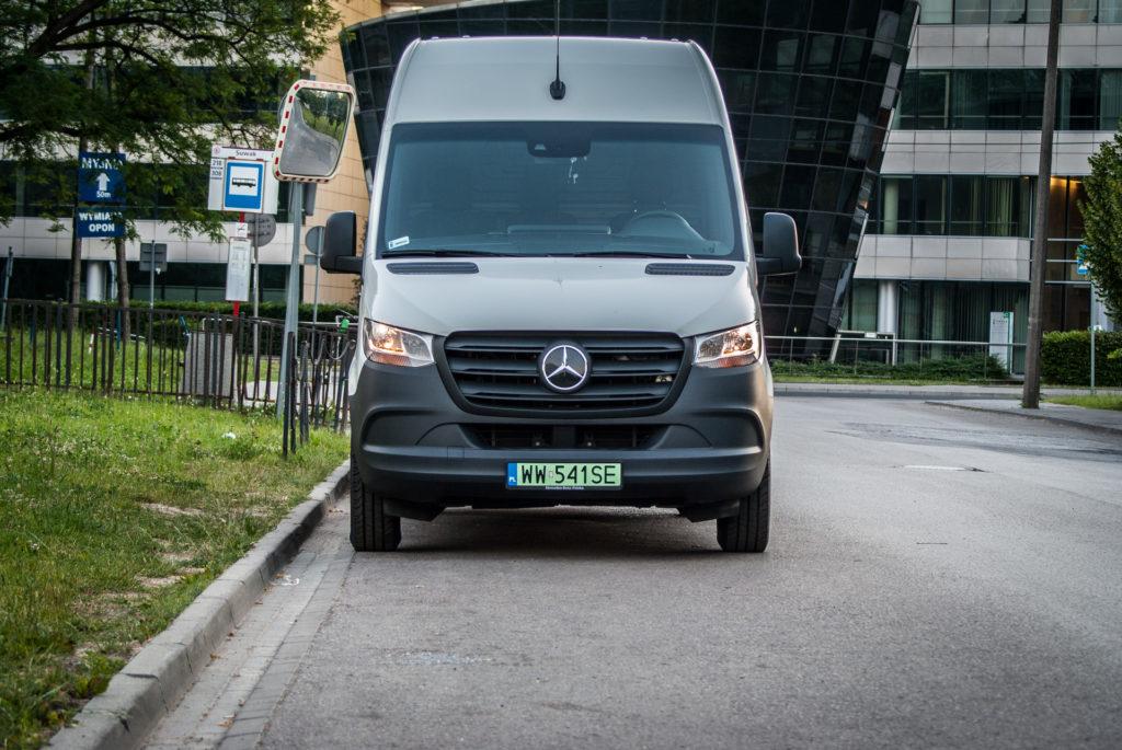 Mercedes eSprinter (fot. Jakub Kornacki / Automotyw.com)