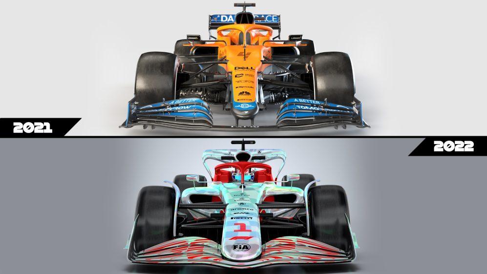 przednie skrzydło formula 1