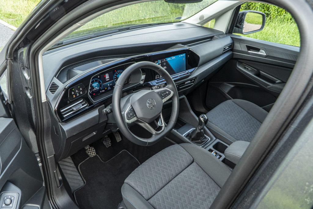 Volkswagen Caddy wnętrze