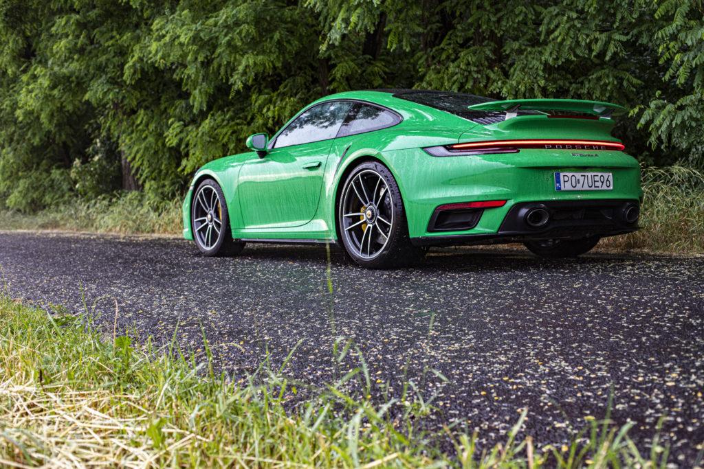 jak jeździ Porsche 911 Turbo S
