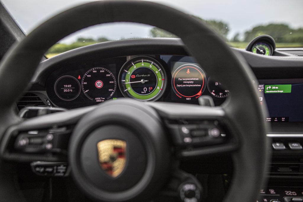 obrotomierz Porsche 911