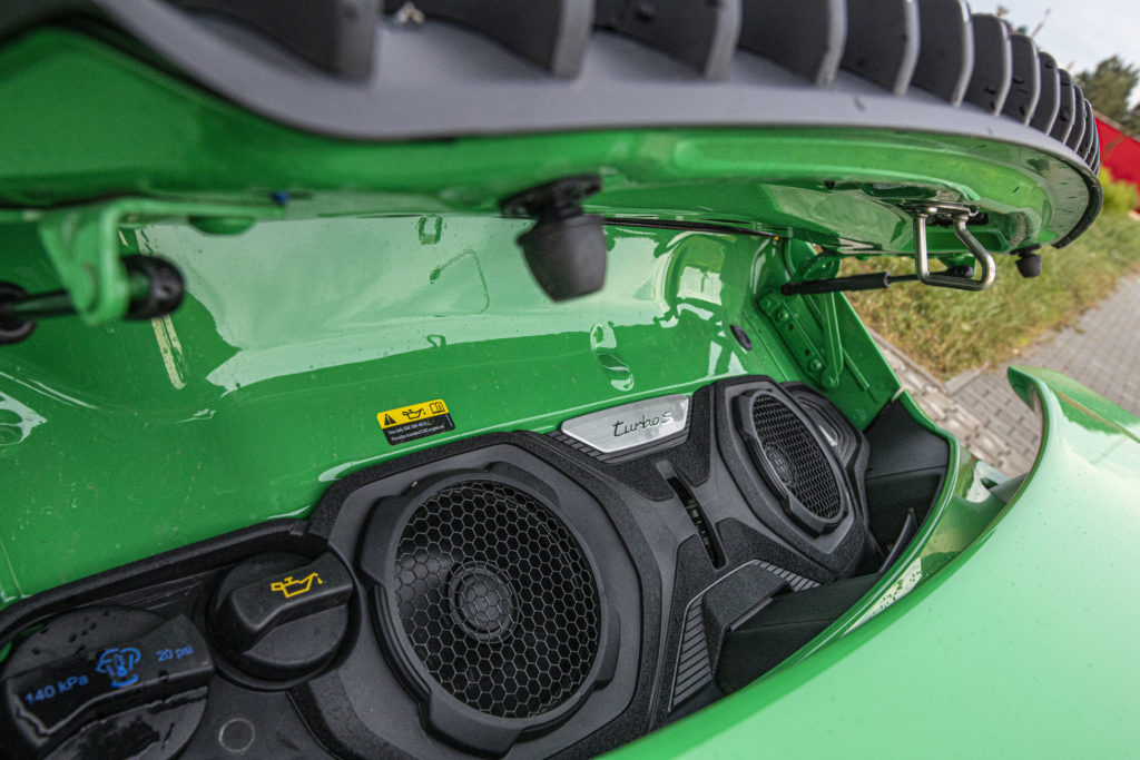 silnik Porsche 911 Turbo S