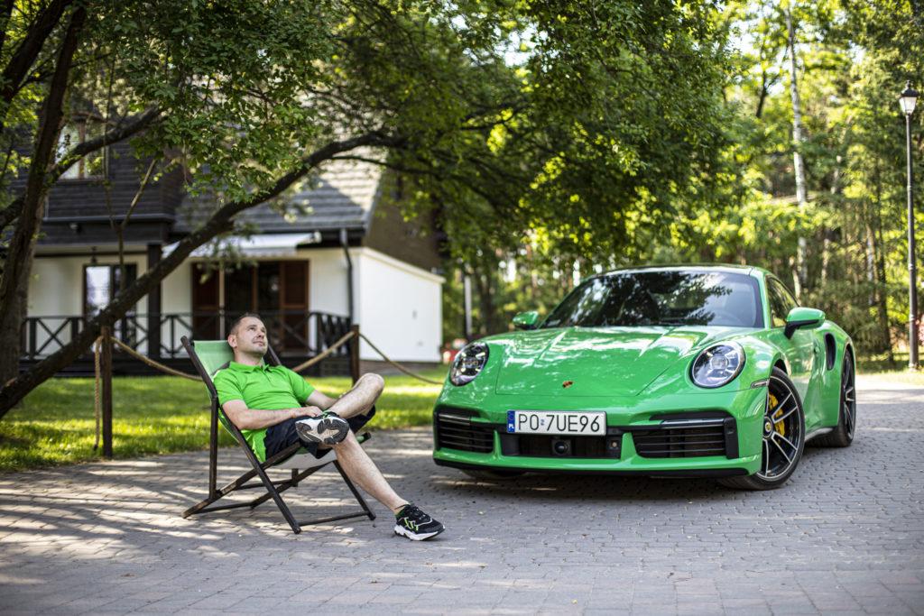 Porsche 911 Turbo S Python Green