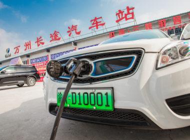 elektromobilność w Chinach
