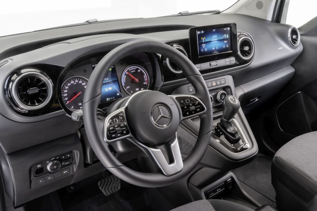 Mercedes Citan (fot. materiały prasowe Mercedes-Benz)