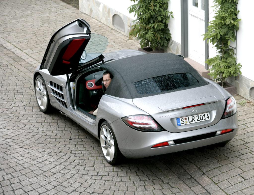 drzwi Mercedes McLaren SLR