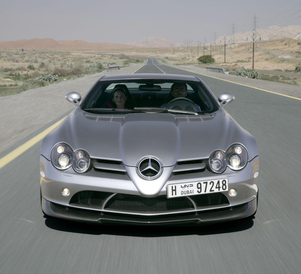 Mercedes McLaren SLR Dubai