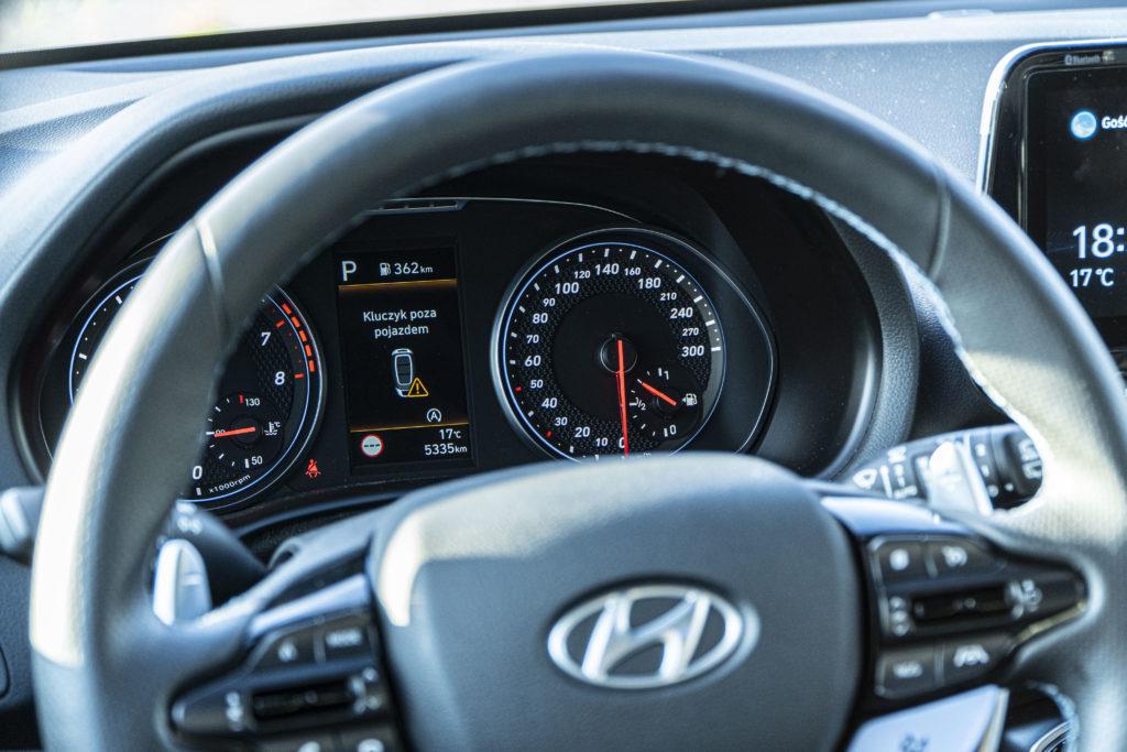 analogowe zegary Hyundai i30 N
