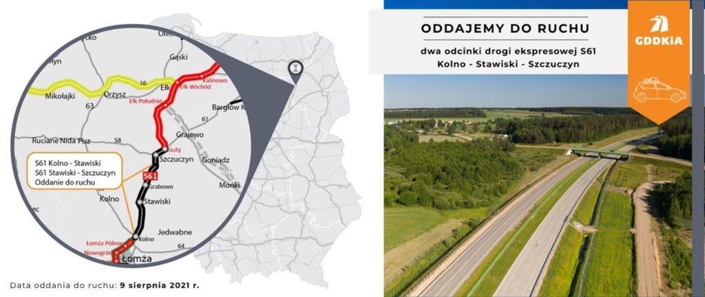 Drogi, Via Baltica, budowa dróg, GDDKiA
