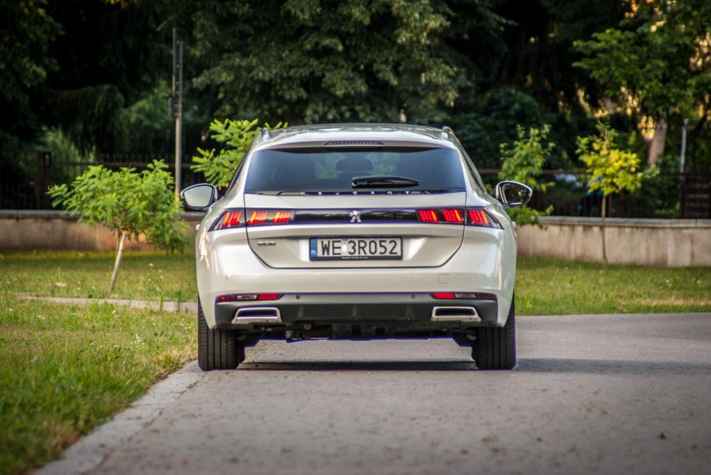 Peugeot 508 SW (fot. Jakub Kornacki / Automotyw.com)