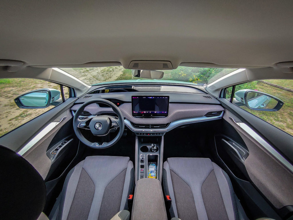Škoda Enyaq iV 60 (fot. Jakub Kornacki / Automotyw.com)